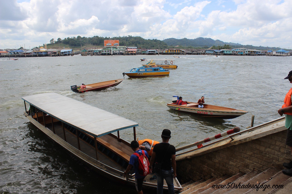 Long Boat on the Brunei River