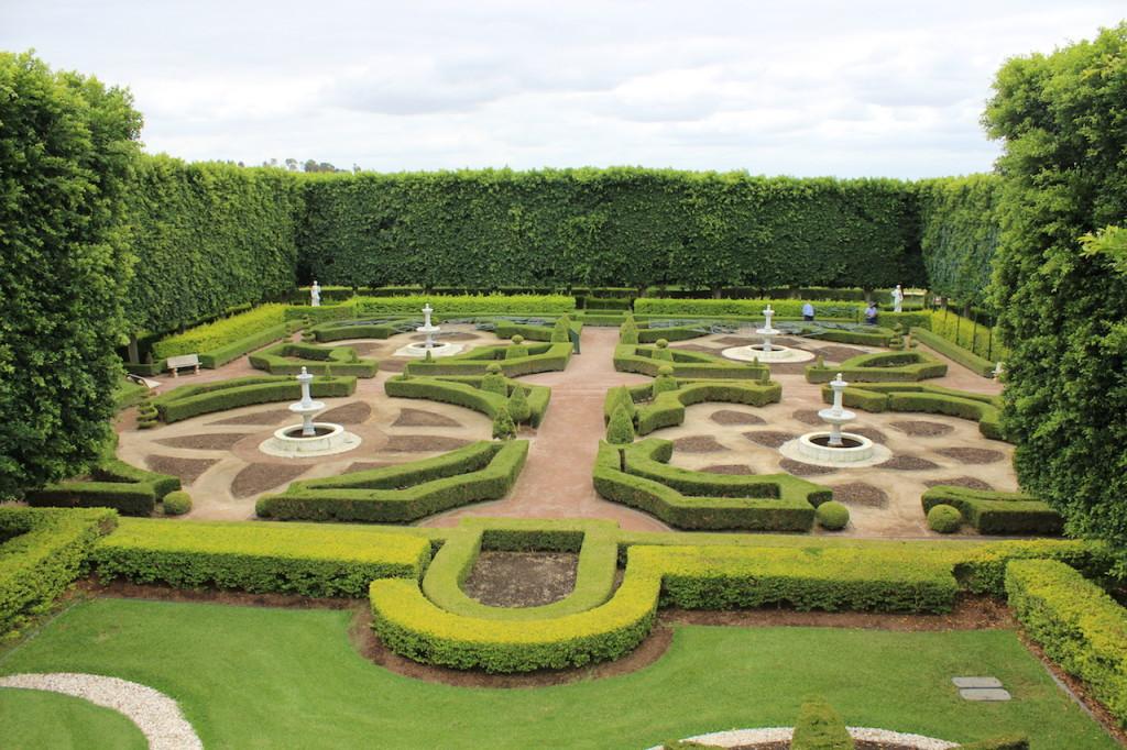 Formal Garden at Hunter Valley