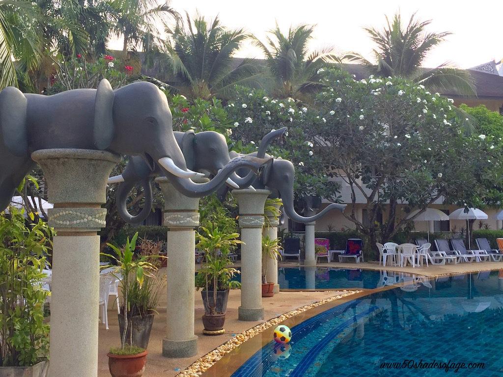 Golden Beach Resort Pool Area