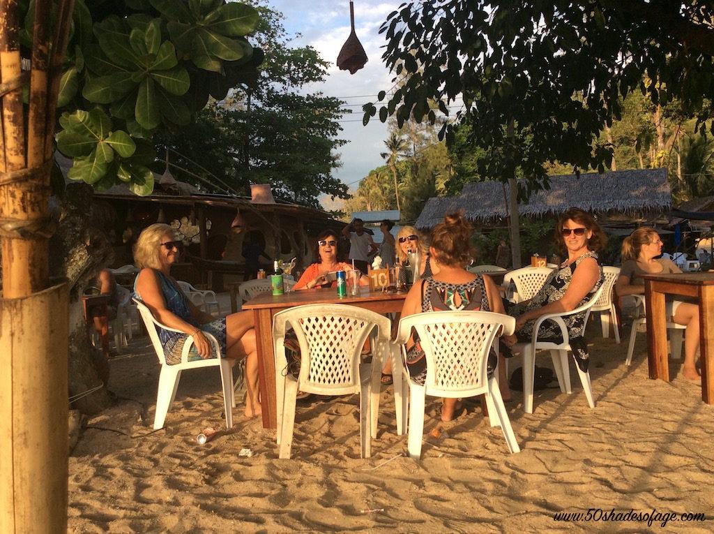 Sunset Drinks at Aonang Beach