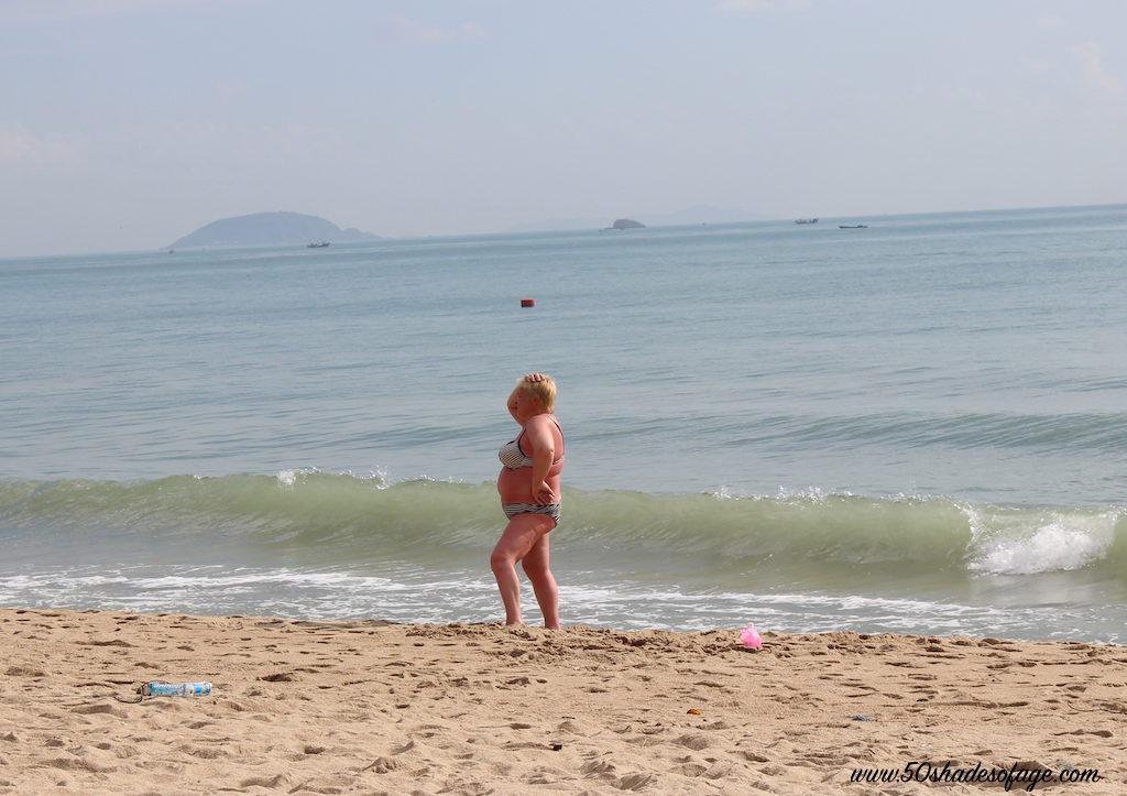 Beach Babe in Nha Trang