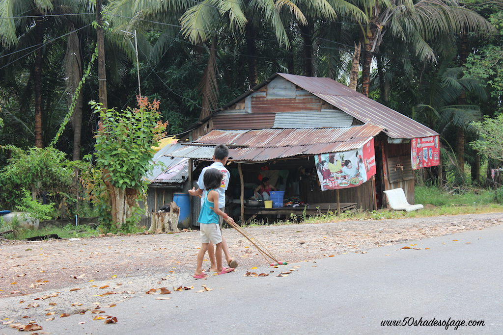 Impoverished conditions in Sihanoukville