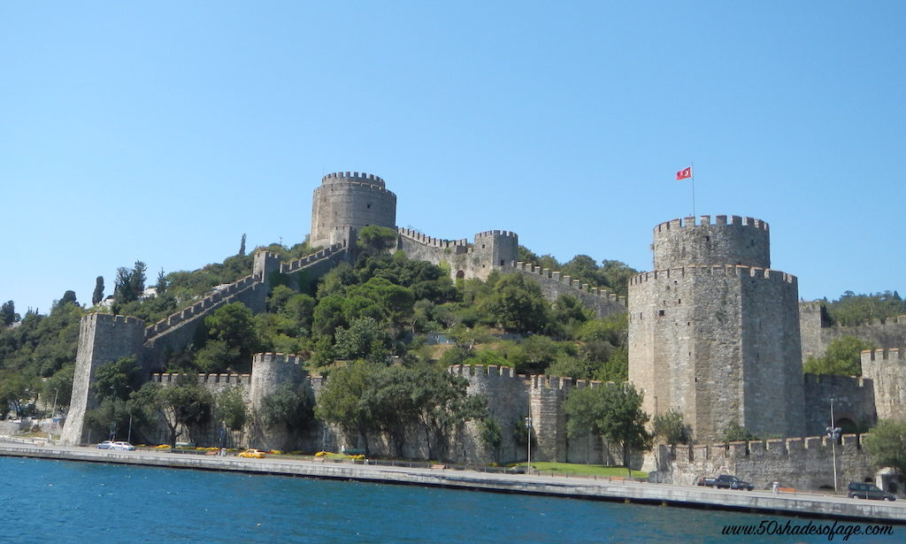 Fortress on the Bosphorous River, Istanbul