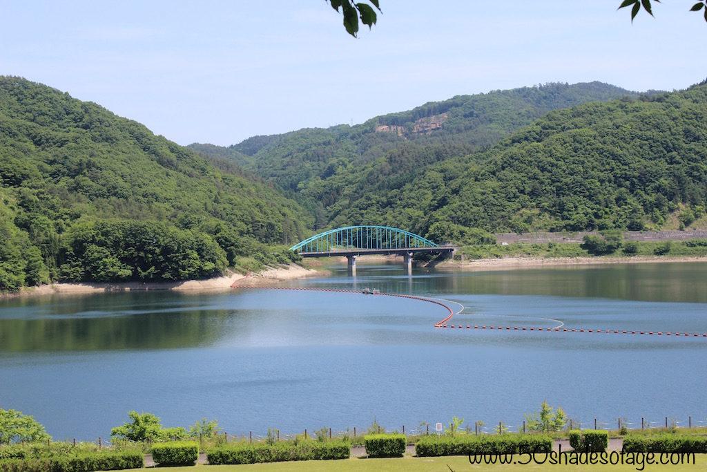 Manmade Lake in Morioka, Iwate