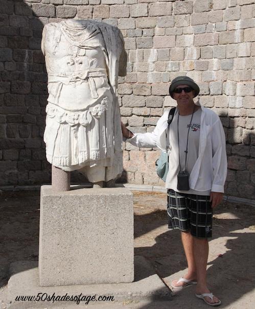 Roman Statue at Pergamum