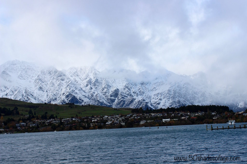 The Remarkables Mountains in Queenstown