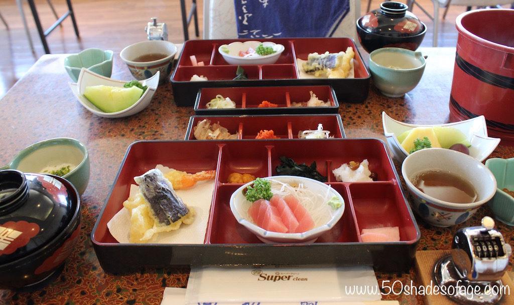 Wanko Soba Noodle Challenge in Morioka City