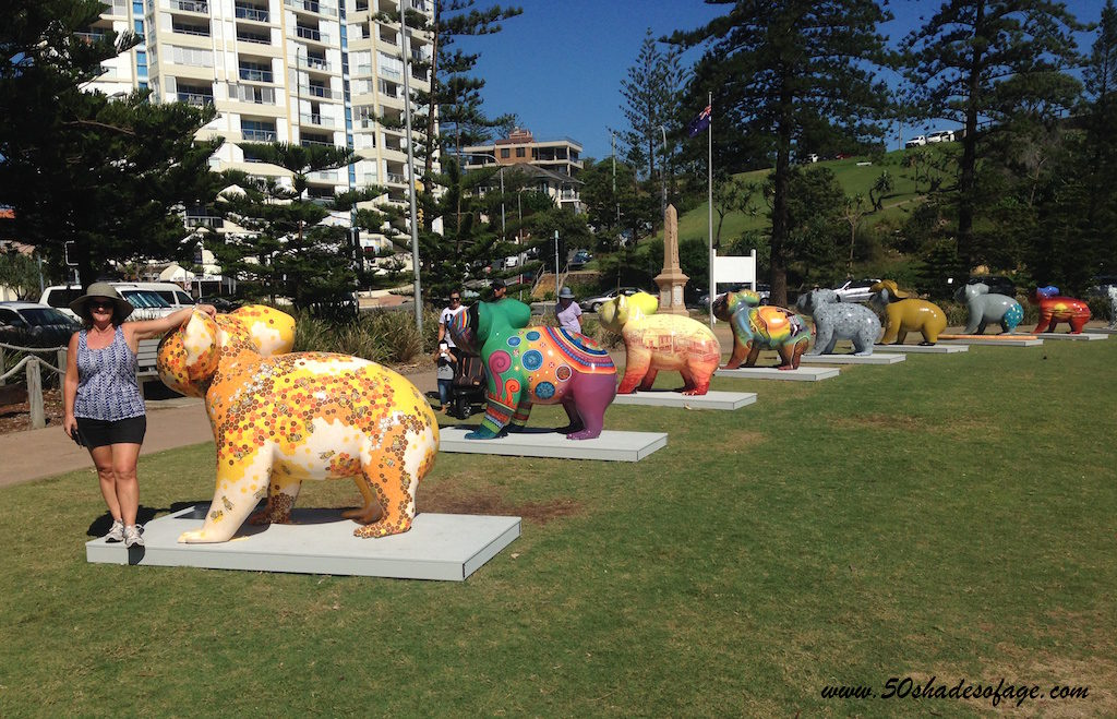 Koala Artwork in Coolangatta Beachside Park