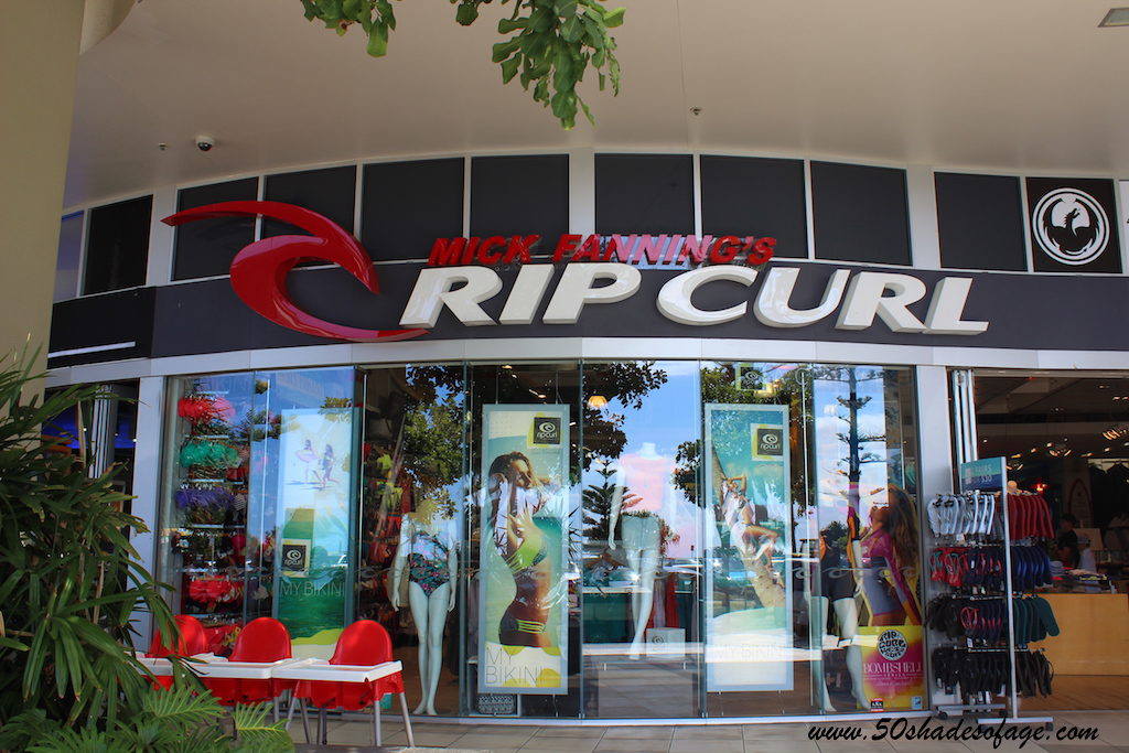 One of the Surf Shops in Coolangatta