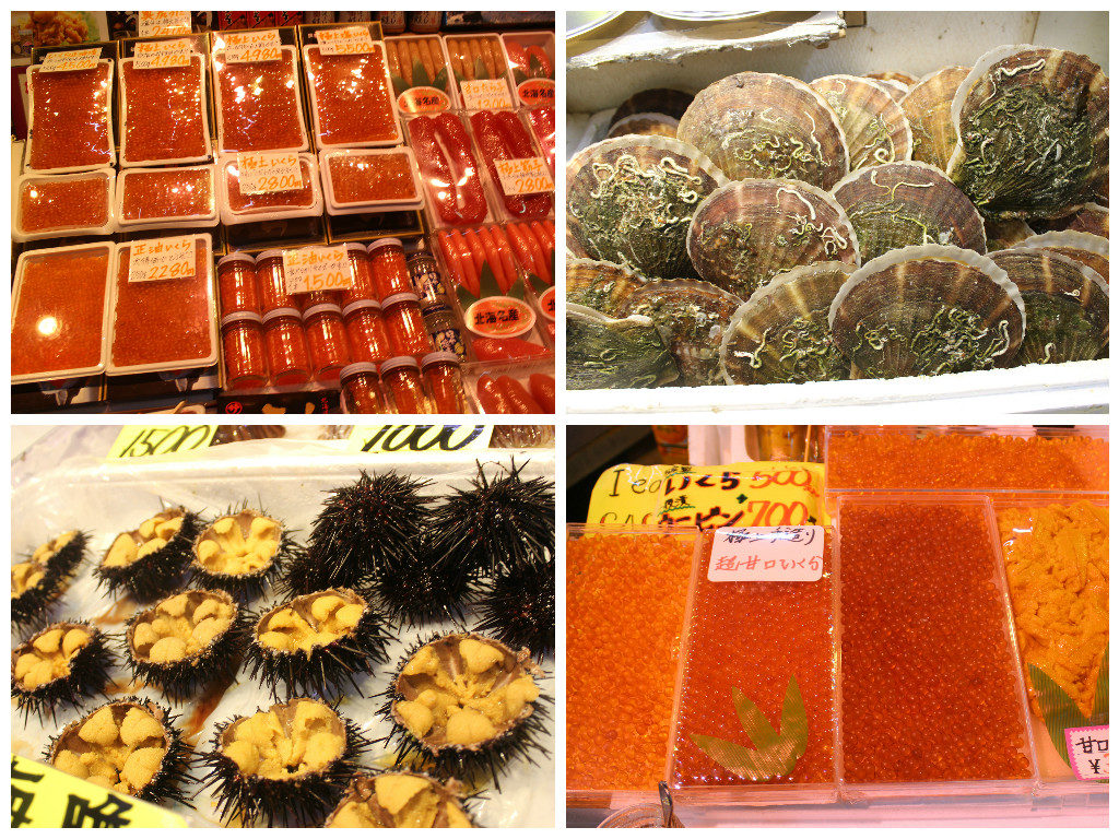 Fish Markets in Hakodate
