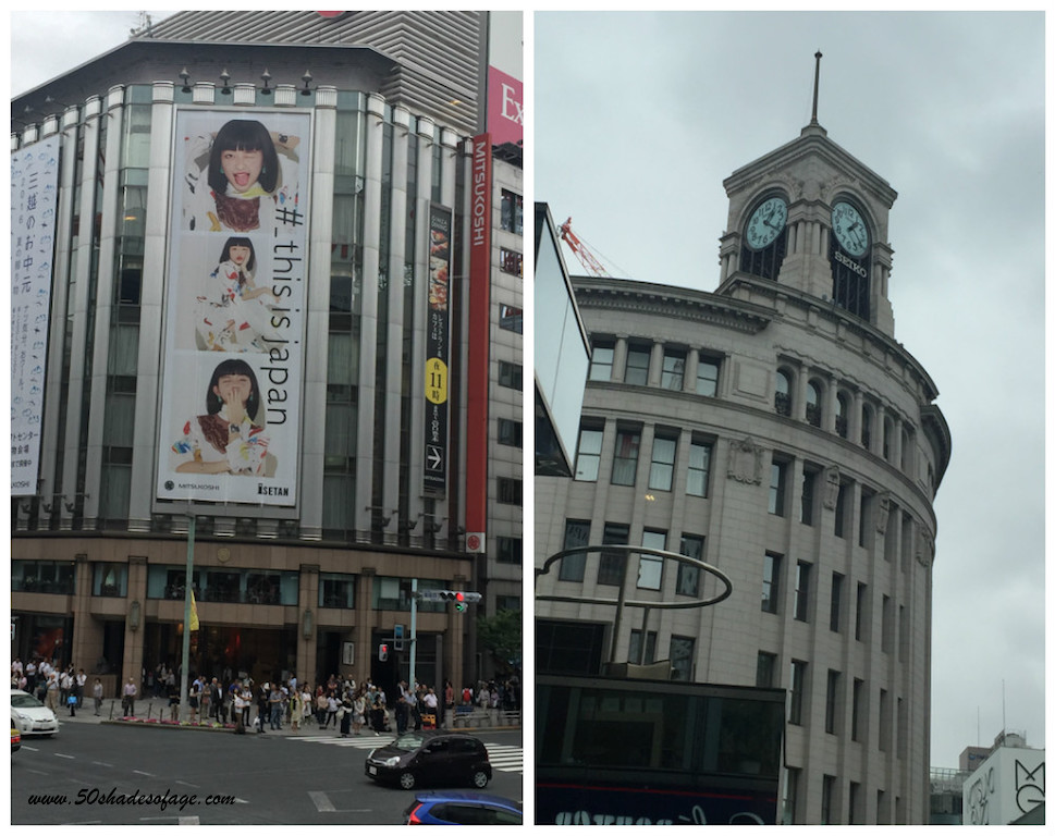 Department Stores in Ginza