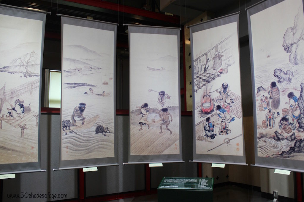 Screen Prints in the Hakodate Museum of Northern Peoples