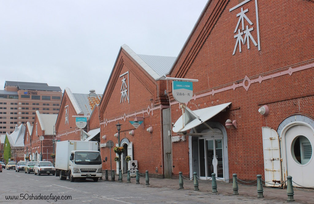 Red-Brick Warehouses in the Port Area