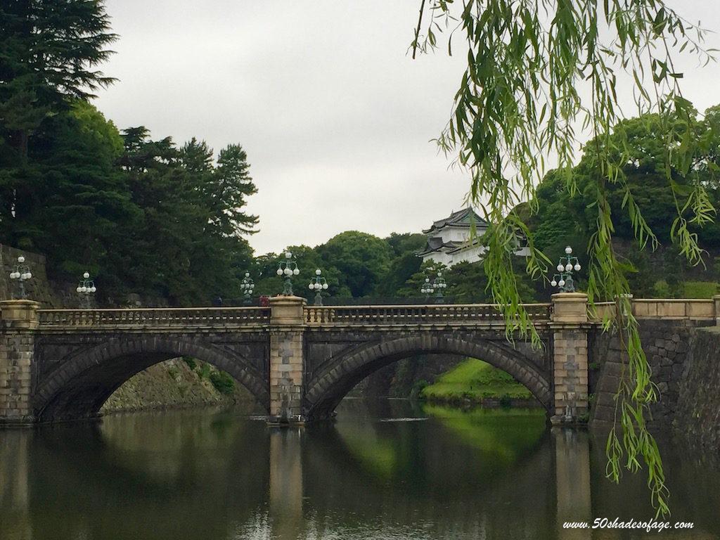 Imperial Palace Bridge in Tokyo