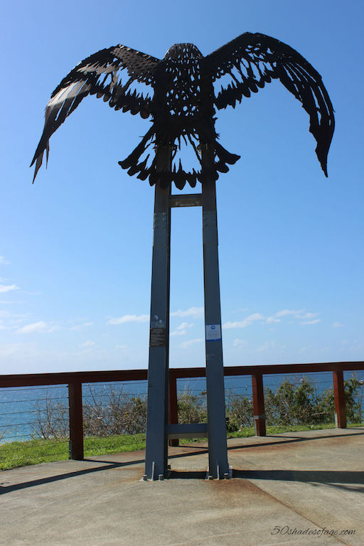 Kirra Hill Lookout and Eagle Statue