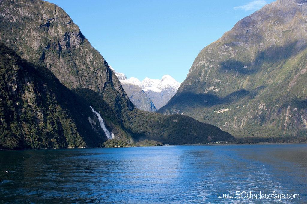 Views down the Fiord