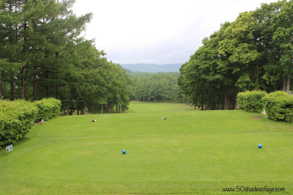 Lush green fairways at the Prince Hotel Hakodate-Onuma Gold Course