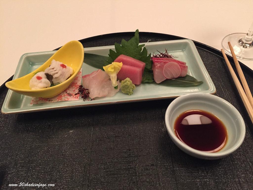 Japanese Banquet at the Prince Hotel Shinagawa Restaurant