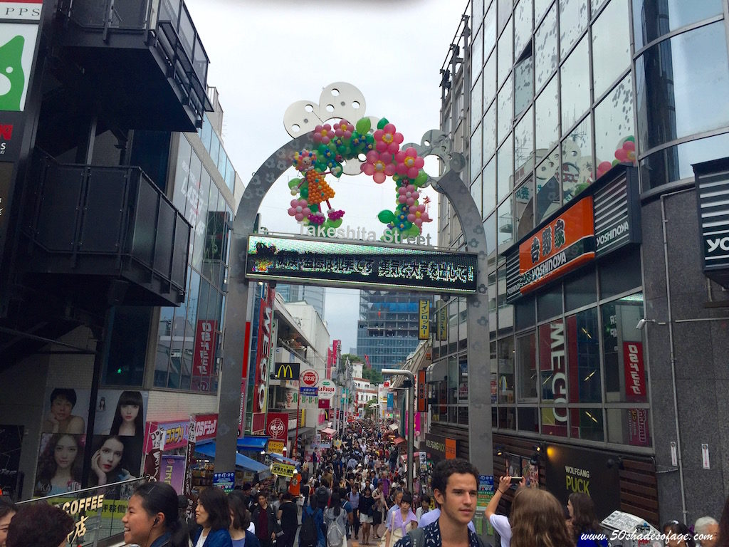 Takeshita Street in Harajuka