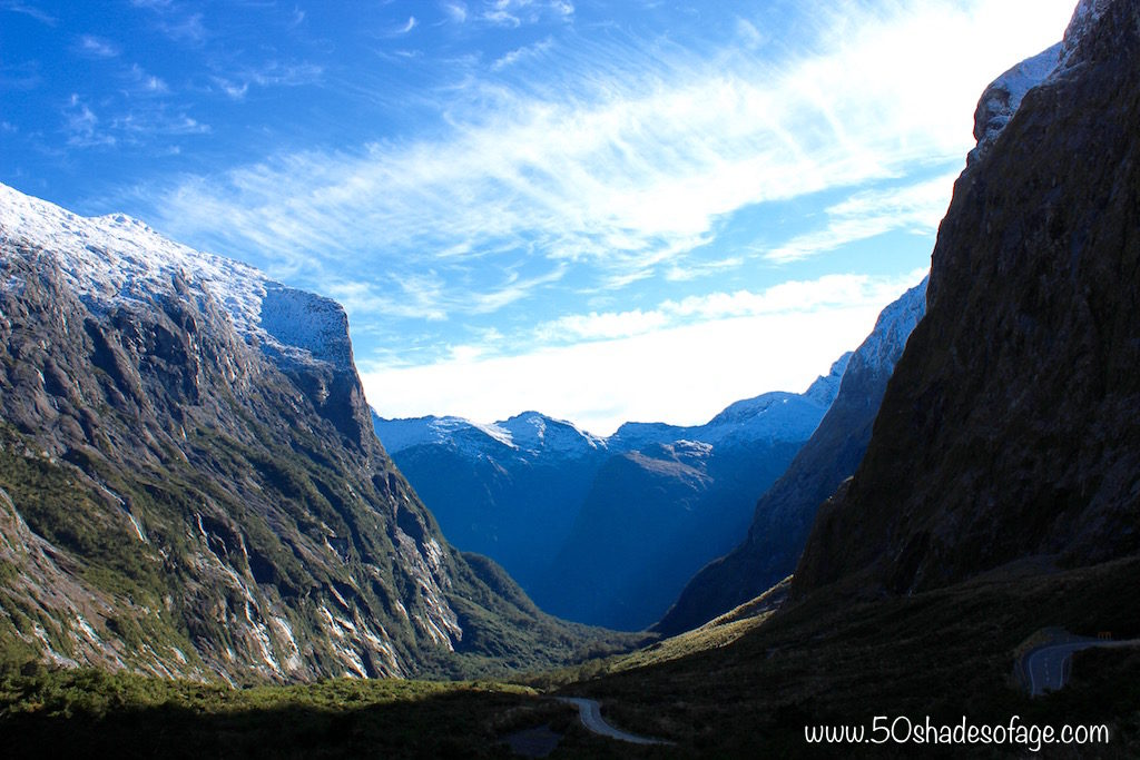 More spectacular mountain vistas on Milford Road