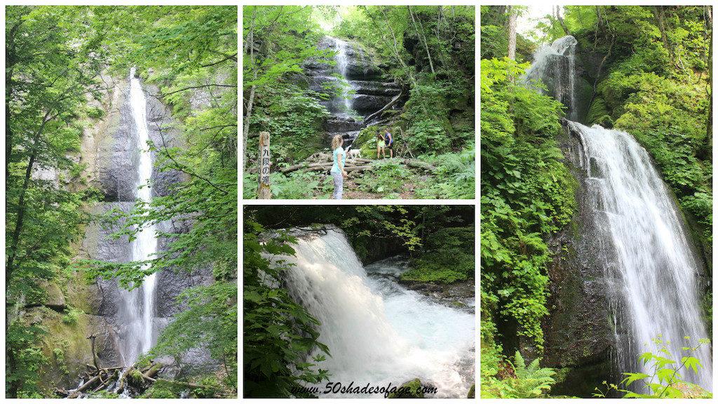 Oiraise Gorge Waterfalls