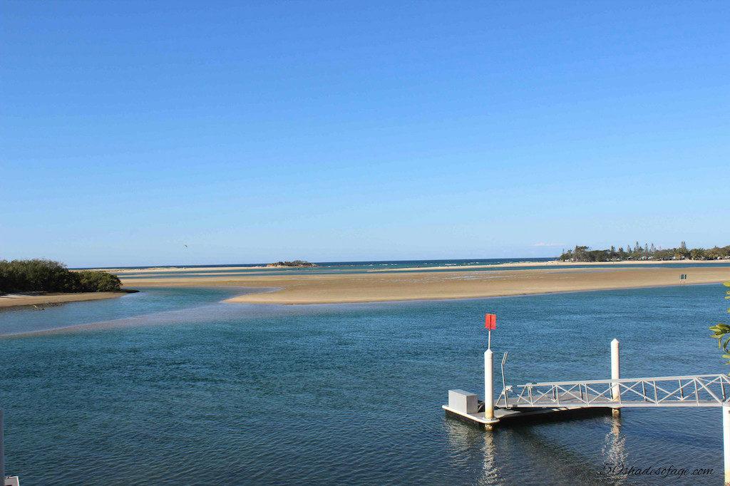Maroochy River Estuary at Cotton Tree Maroochydore
