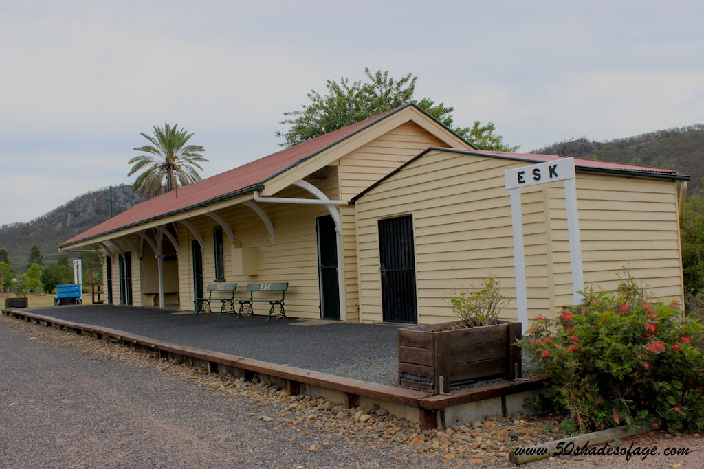 Old Railway Station at Esk