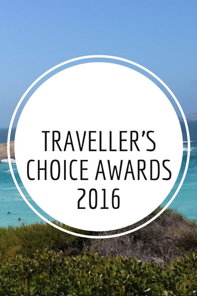 Traveller's Choice Awards 2016