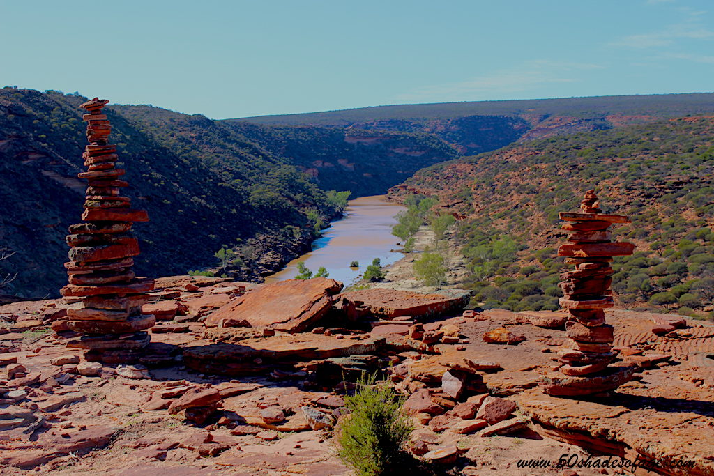 Kalbarri National Park Inland River Gorge