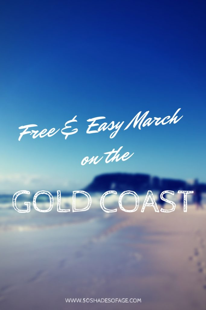 Free & Easy March on the Gold Coast