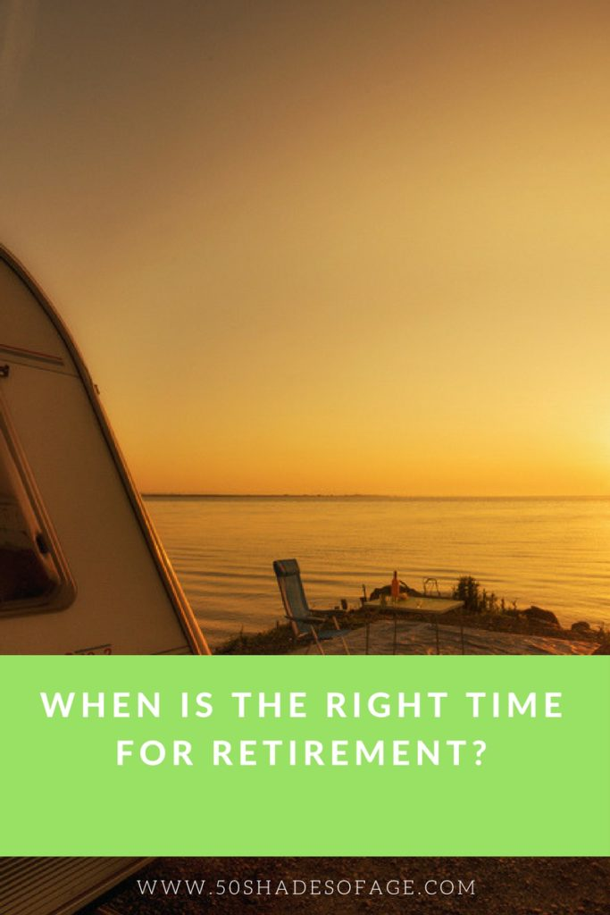When is the right time for Retirement?