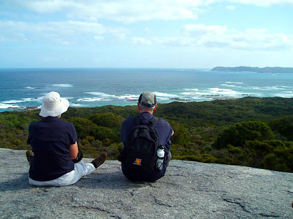 Views over William Bay from the Bibbulmun Track