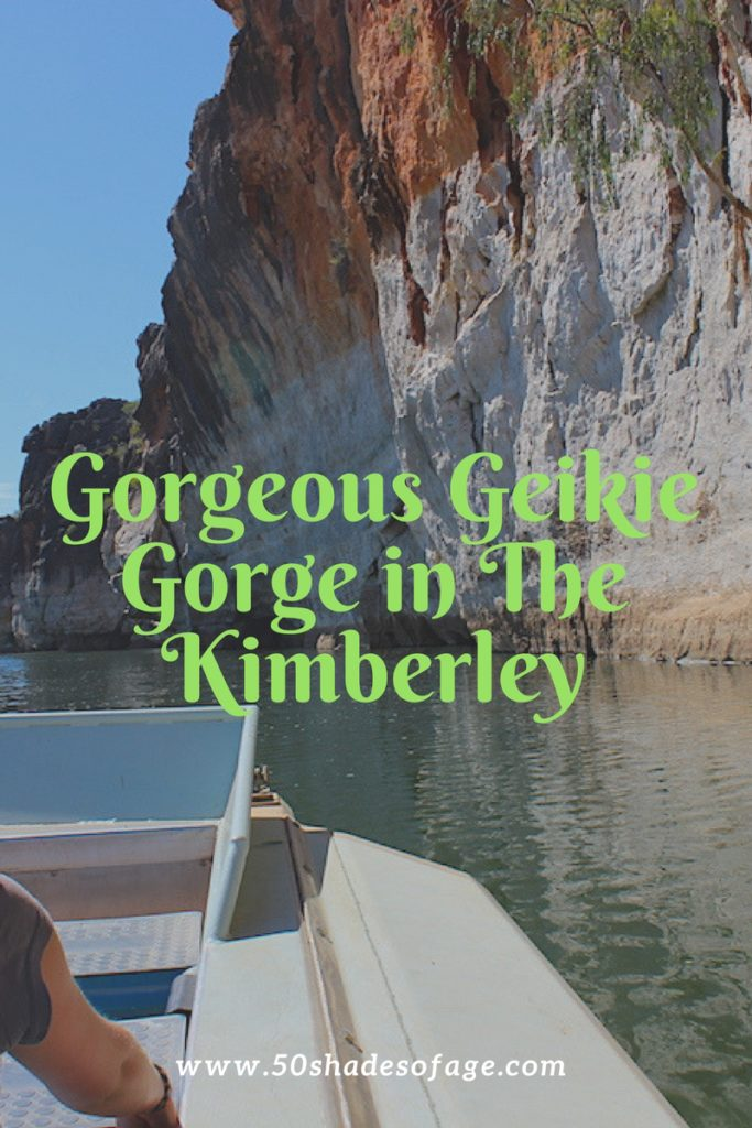 Gorgeous Geikie Gorge in The Kimberley