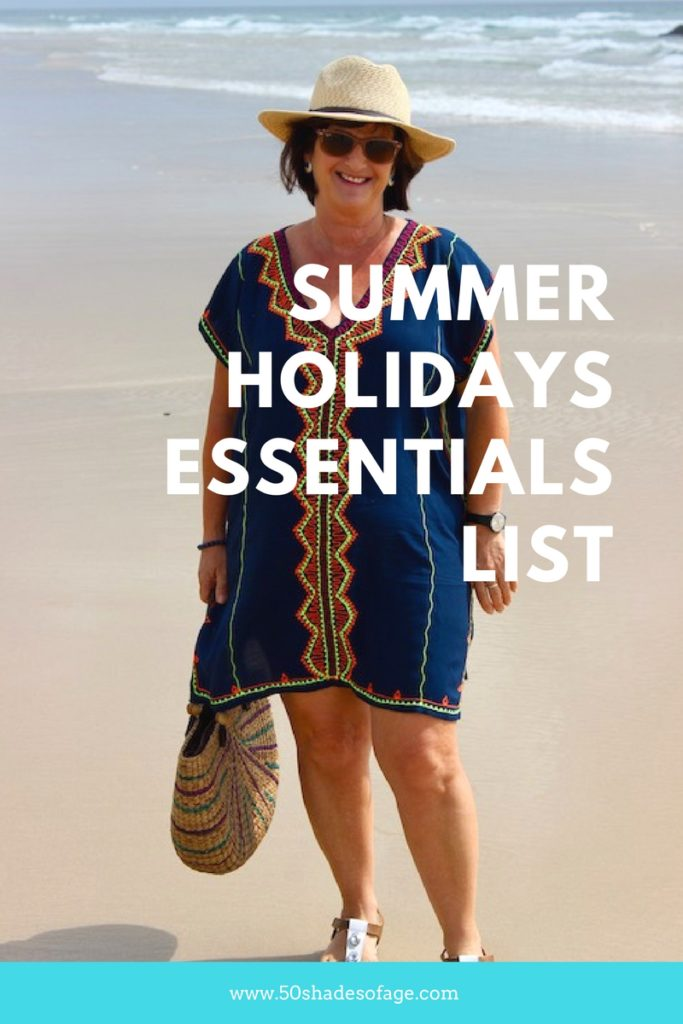 Summer Holidays Essentials List