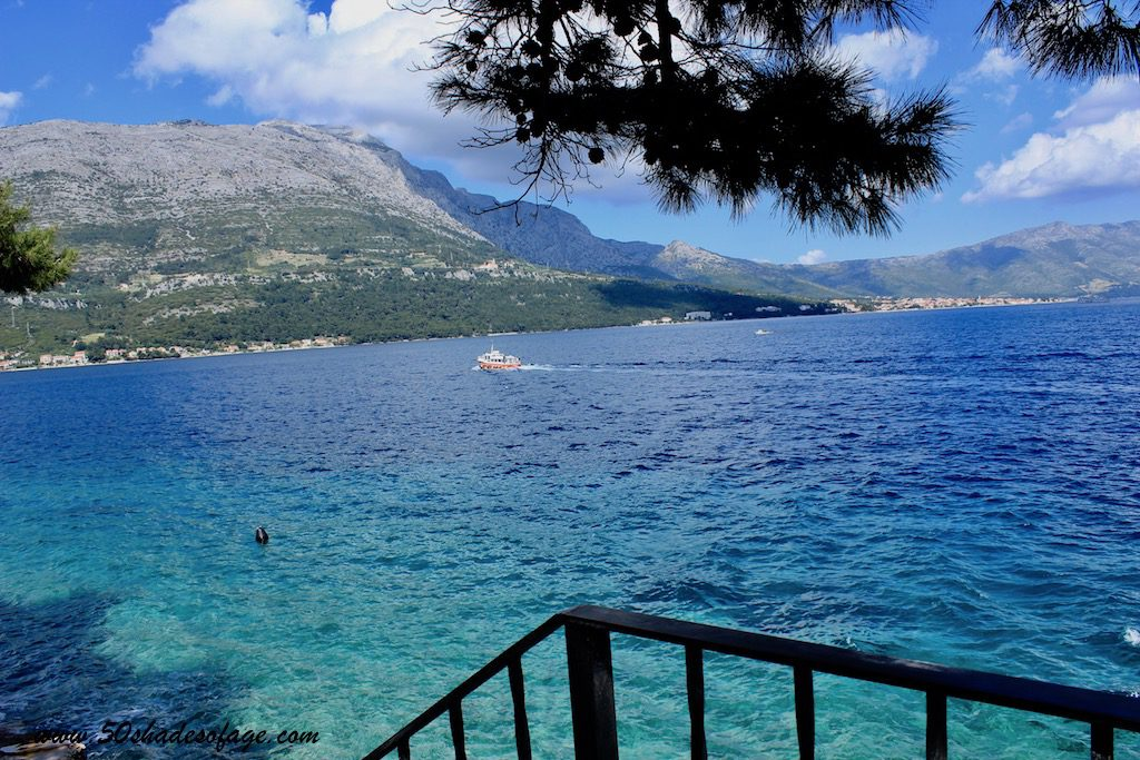 The Croatian Island of Korcula