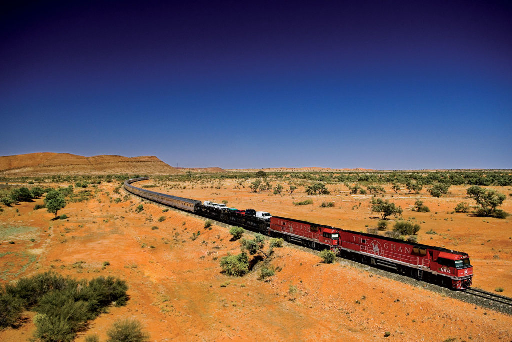 The Great Ghan Train Trip