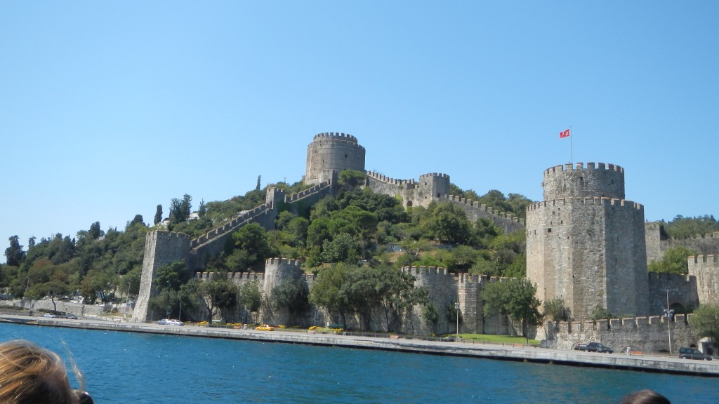 Fort on the Bosphorus River