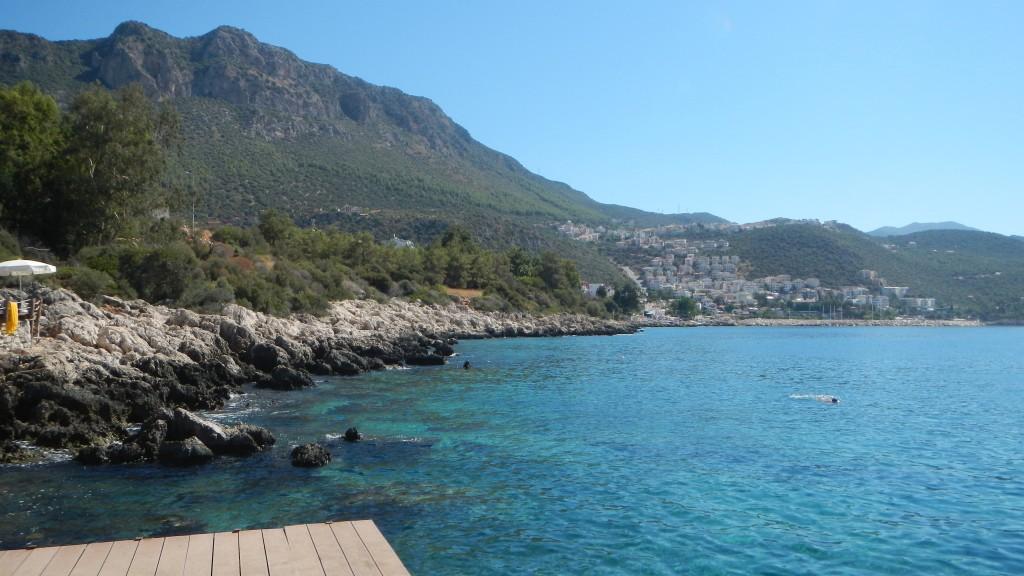 Aquamarine Sea at Kas