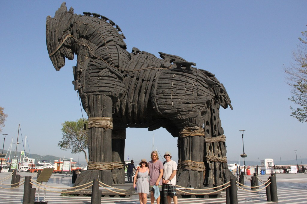 Trojan Horse Replica, Canakkale