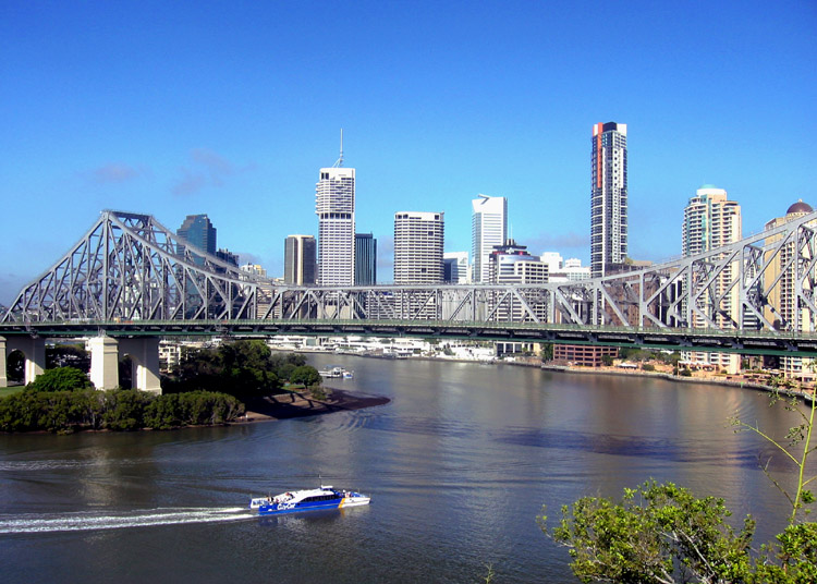 Weekend in the River City of Brisbane