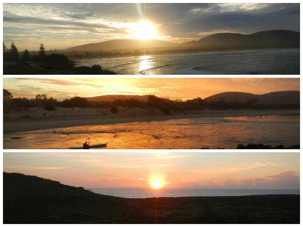 Majestic Australian Sunsets and Sunrises