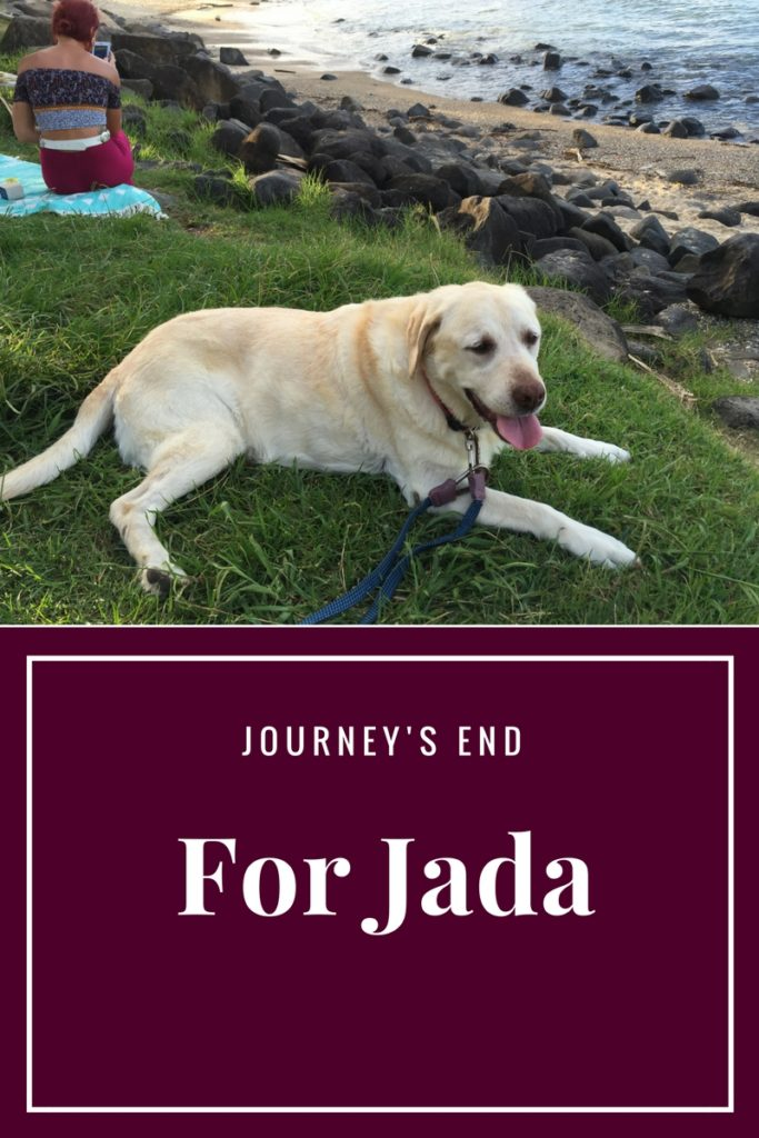 Journey's End for Jada
