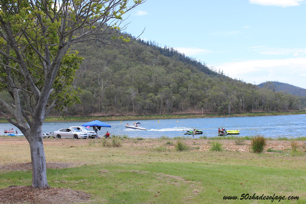 camping at Lake Somerset Holiday Park with direct access to the water for boating and fishing or at the pretty Somerset Park Campground on the shores of the Stanley River in Somerset Village.