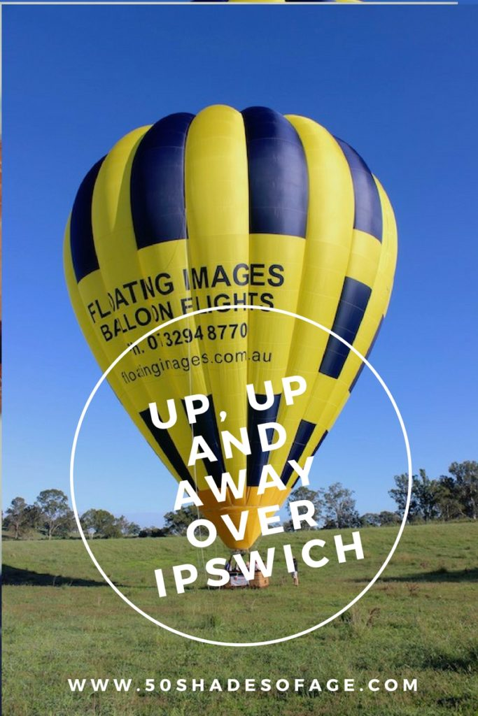 Up, Up and Away Over Ipswich in a Hot Air Balloon