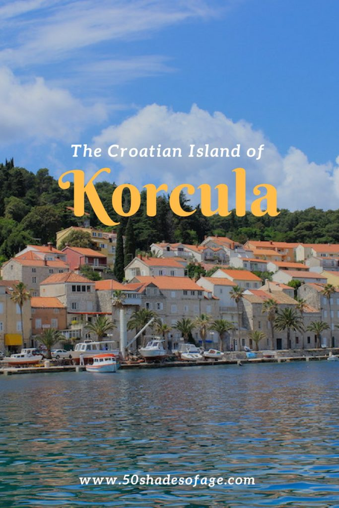 The Croatian Island of Korčula