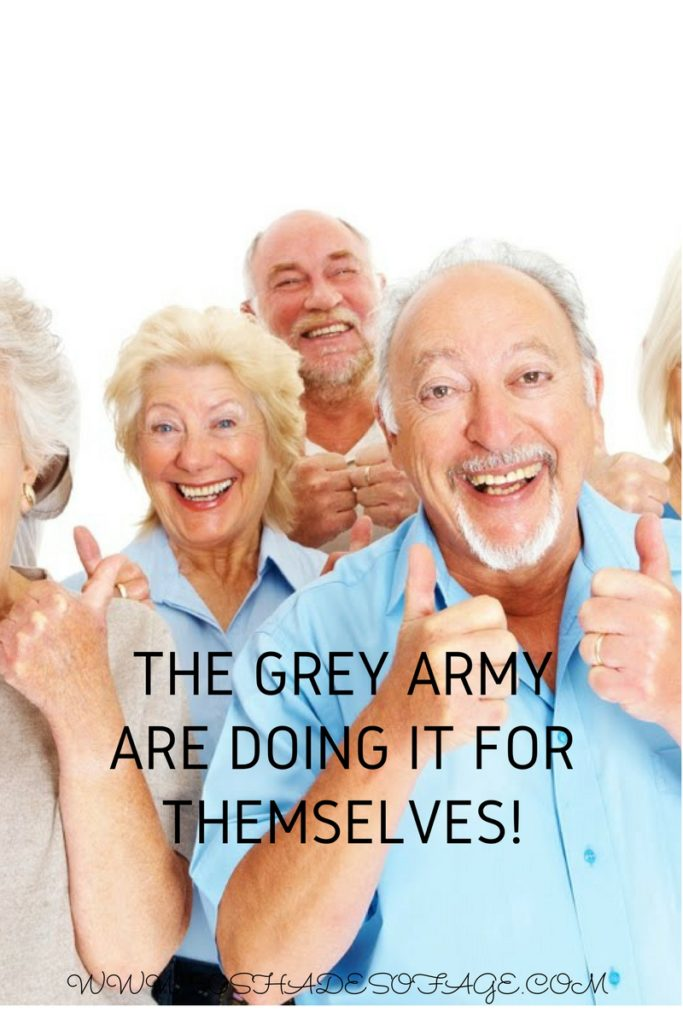 The Grey Army are Doing it for Themselves!