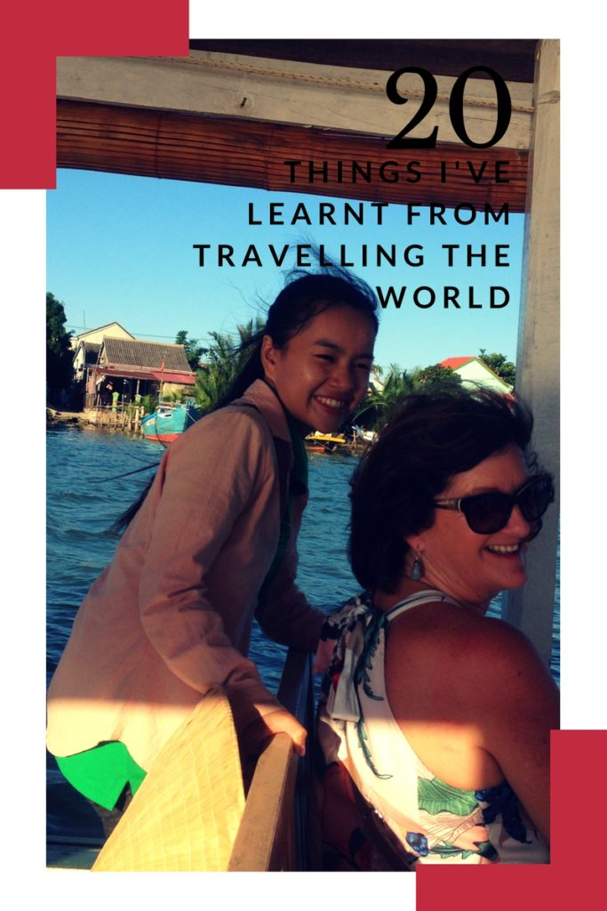 20 Things I've Learnt from Travelling the World