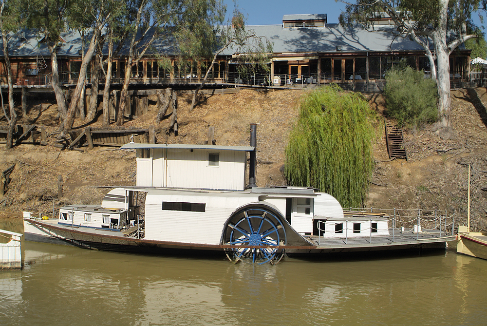 Tracing The Murray River
