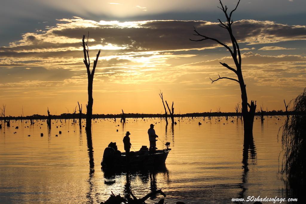 Magical Sunsets of Lake Mulwala