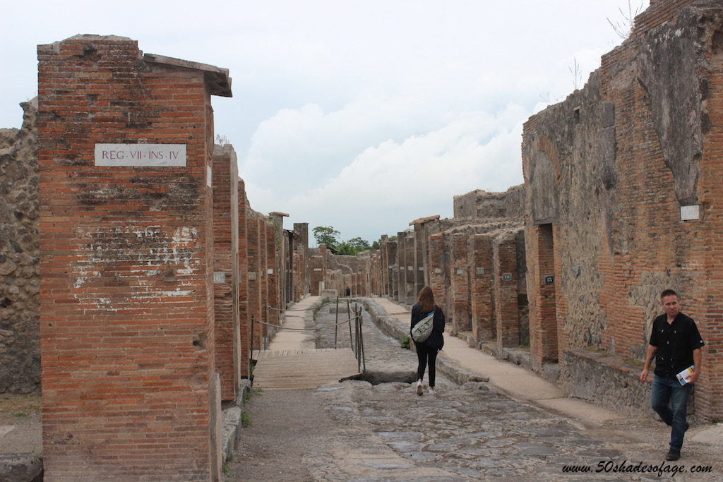 The Ancient Ruins of Pompeii